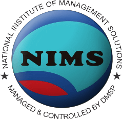 NIMS - National Institute of Management Solutions Square Logo